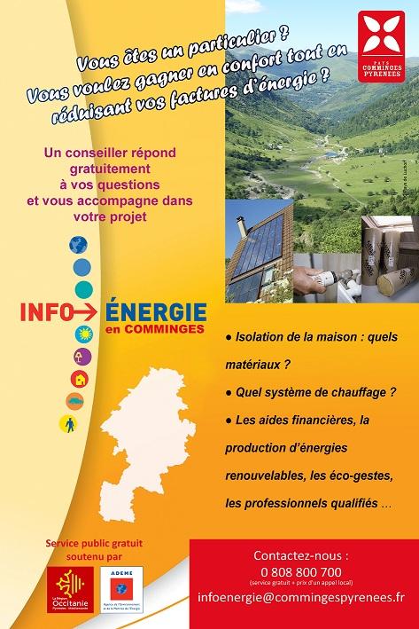Le Comminges doté d'un Espace Info Energie !